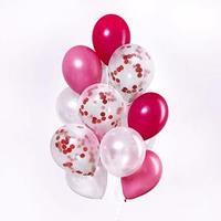 Букет из шаров 'Воображение', латекс, с конфетти, набор 15 шт. дождевик в подарок