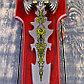 Сувенирный меч на планшете, цветное нанесение на лезвии, 52 см, фото 5