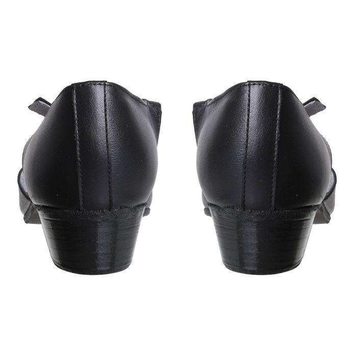 Туфли репетиторские женские, длина по стельке 24 см, цвет чёрный - фото 5
