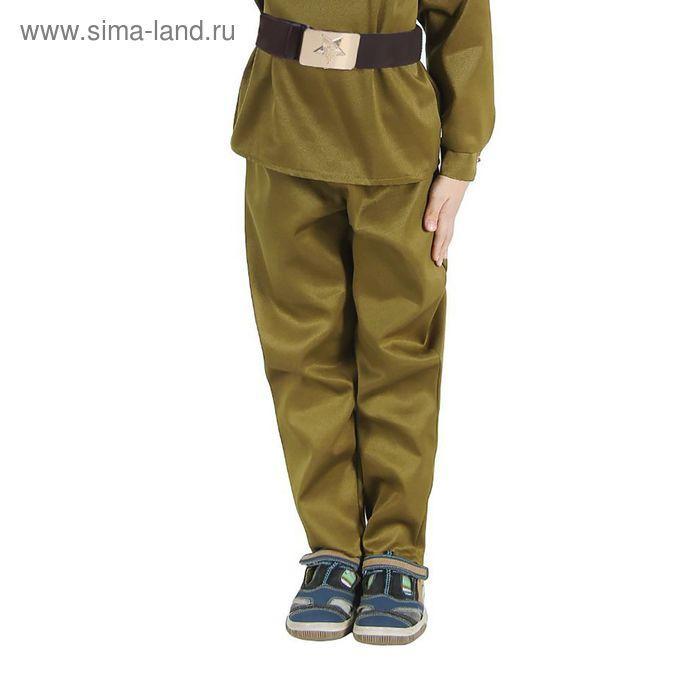 """Штаны военного """"Галифе"""", детские, р-р 32, рост 128 см - фото 1"""