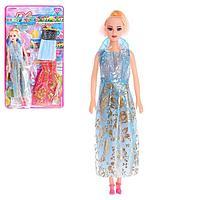 Кукла-модель «Оля» с набором платьев, МИКС