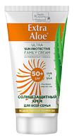"""Солнцезащитный крем для всей семьи SPF 50+ """"Extra Aloe"""" 75мл"""