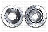 Тормозные диски Gerat DSK-F025W (ПЕРЕДНИЕ) Toyota Land Cruiser 200, Lexus Lx570