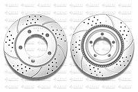 Тормозные диски Gerat DSK-F025P (ПЕРЕДНИЕ) Toyota Land Cruiser 200, Lexus Lx570
