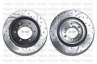 Тормозные диски Gerat DSK-F023W (ПЕРЕДНИЕ) Toyota Land Cruiser Prado 150, FJ Cruiser I пок., Lexus GX460