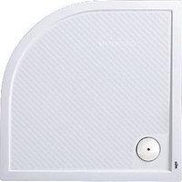 Поддон душевой HÜPPE PURANO 202151.055 90х90 см, 1/4 круга, белый