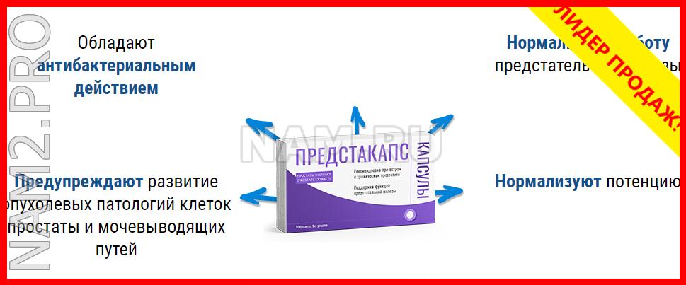Предстакапс капсулы от простатита (клинически доказанная эффективность) - фото 3
