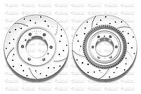 Тормозные диски Gerat DSK-F023P (ПЕРЕДНИЕ) Toyota Land Cruiser Prado 150, FJ Cruiser I пок., Lexus GX460