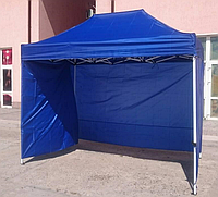Шатер увеличенной прочности с боковыми стенками 3x4м, высота 3 м
