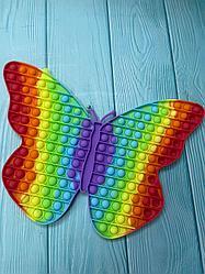 Pop it Поп Ит Игрушка антистресс бабочка  большая