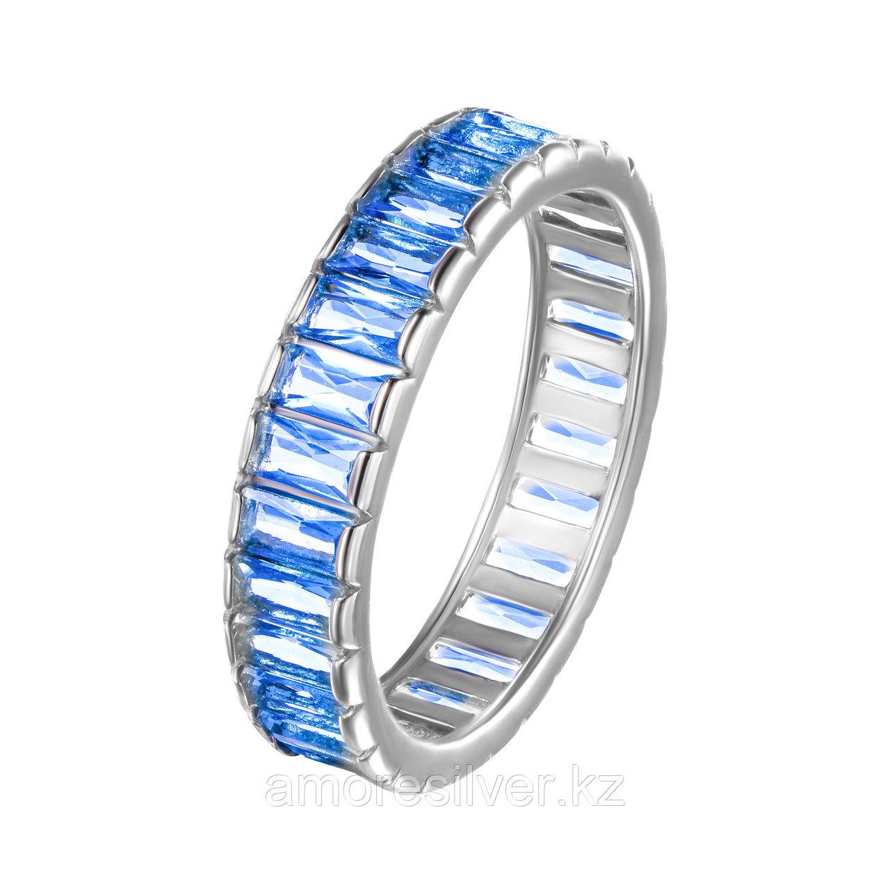 Кольцо TEOSA серебро с родием, фианит 10119-605-SPZ размеры - 17,5 18,5
