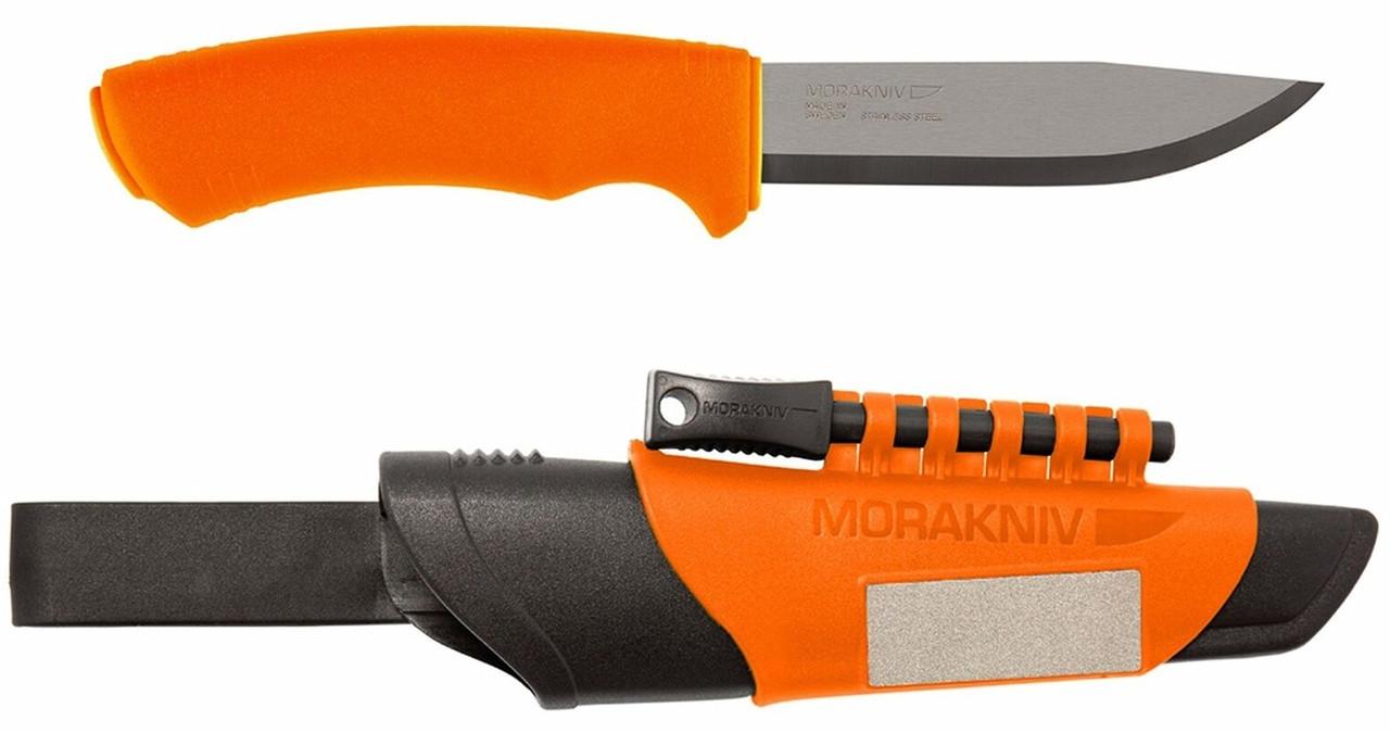 Нож MORAKNIV BUSHCRAFT SURVIVAL ORANGE