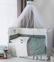 Комплект в кроватку Perina Жила-была Лошадка 4 предмета