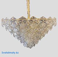 Люстра подвесная итальянская реплика на 21 лампу