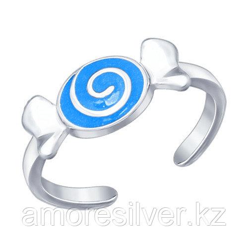 Кольцо SOKOLOV серебро с родием, классика 94012039