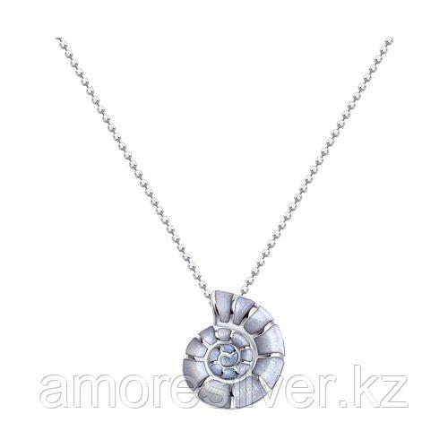 Колье SOKOLOV серебро с родием, эмаль 94070380