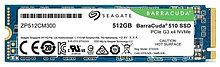 Seagate ZP512CM30041 Твердотельный накопитель BarraCuda 510 SSD 512ГБ 3D TLC PCIE M.2 2280