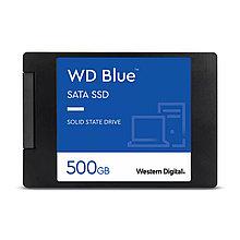 Western Digital WDS500G2B0B Твердотельный накопитель SSD Blue 3D NAND 500ГБ M2.2280 SATA-III (TLC)