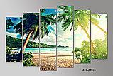 """Модульная картина """"Пляж"""", фото 2"""