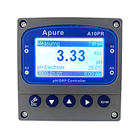 Apure A10PR Промышленный pH/ОВП контроллер (реле три группы контактов, токовый выход 4-20мА) с датчиком в, фото 1