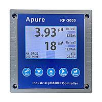 Apure RP-3000 Промышленный pH/ОВП контроллер (реле две группы контактов, 2 токовых выхода 4-20мА, RS-485,, фото 1