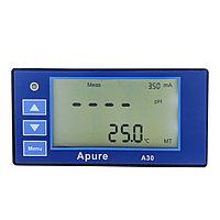 Apure A30PR Промышленный pH/ОВП контроллер (реле одна группа контактов, токовый выход 4-20мА) с датчиком в, фото 1