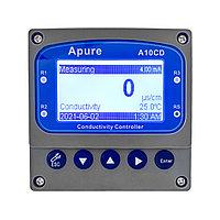 Apure A10CD Промышленный контроллер электропроводности/солесодержания/сопротивления  (реле 3 группы контактов,, фото 1