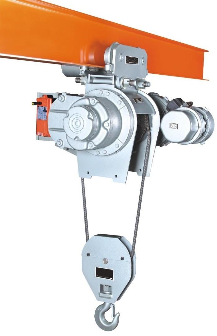 Таль электрическая канатная TOR SH г/п 5 т 9 м 380 В