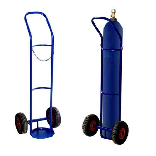 Тележка для баллонов газовых TOR ГБ-1, 1 баллон (2 колеса d 250мм, лит. резина)