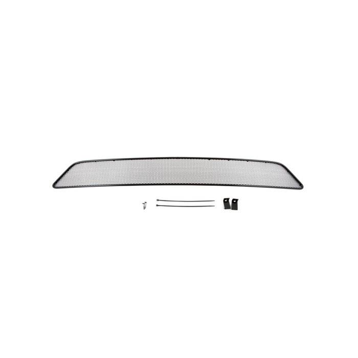 Сетка на бампер внешняя для SUBARU XV 2013-2015, черн., 10 мм