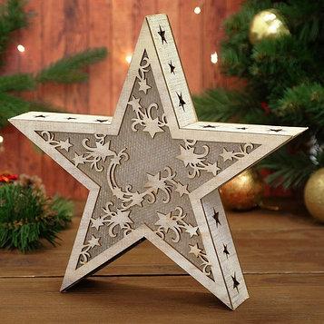 Декор с подсветкой «Звезда»