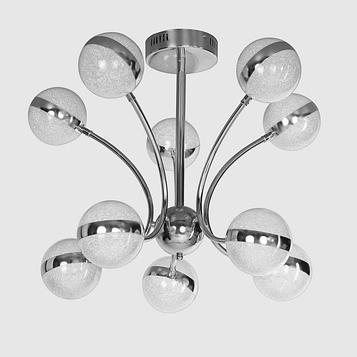 """Люстра """"Артена"""" LED 70Вт хром 80х80х63 см."""
