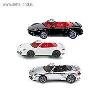 Модель автомобиля Porsche 911 Turbo кабриолет, МИКС