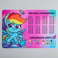 Коврик для лепки «Рэйнбоу Дэш» My Little Pony, формат А4