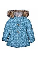 Детская для девочек осенняя бирюзовая куртка Bell Bimbo 163035 бирюза 98-56р.