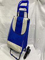 Продуктовая сумка-тележка на колесах. Высота 97 см, ширина 35 см, глубина 22 см., фото 1