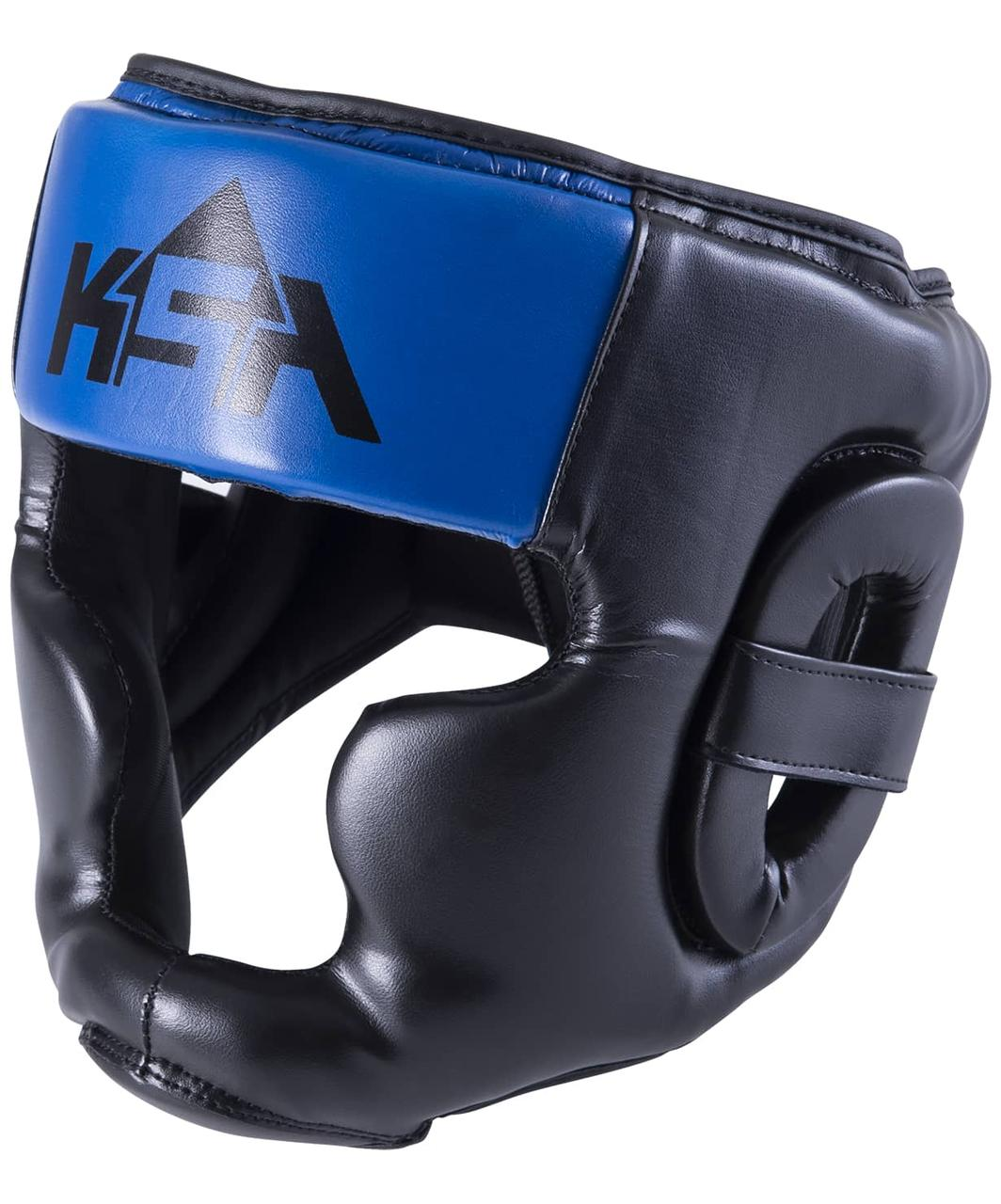 Шлем закрытый Skull Blue, M KSA