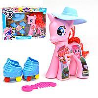 """Игровой набор """"Моя маленькая пони"""" со световыми и музыкальными эффектами Romantic Merry розовая"""
