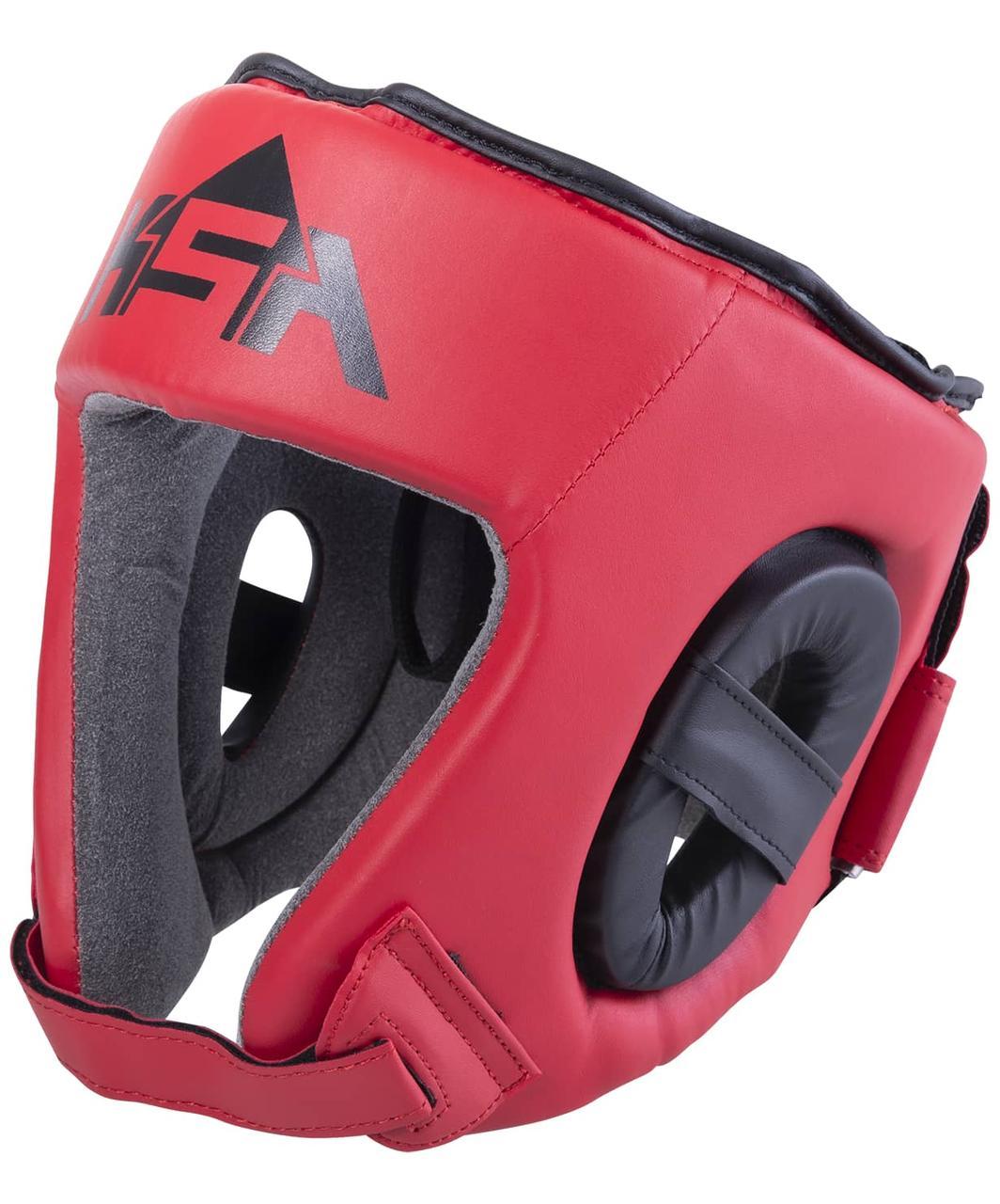Шлем открытый Champ Red, S KSA