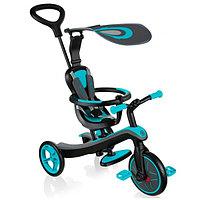Трехколесный велосипед с ручкой Globber Trike Explorer 4 in 1 (2021)