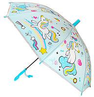 Дисней зонтик 80см диаметр, длина ручки 66см