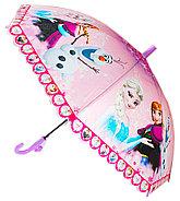 Девочке Дисней зонтик 80см диаметр, длина ручки 66см, фото 3