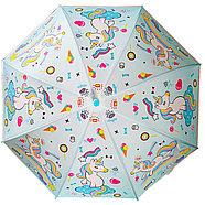 Девочке Дисней зонтик 80см диаметр, длина ручки 66см, фото 6