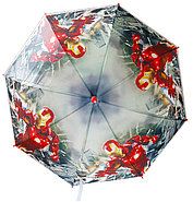 Девочке Дисней зонтик 80см диаметр, длина ручки 66см, фото 7