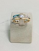 Обручальное кольцо / красное золото - 20.5 размер