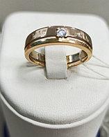 Обручальное кольцо / красное золото - 17 размер