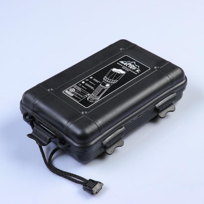 """Фонарь профессиональный аккумуляторный """"Коршун"""", 3 режима, zoom, 15.5х4х4 см - фото 6"""
