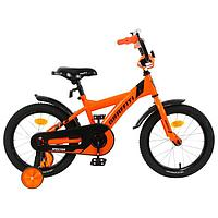 """Велосипед 16"""" Graffiti Spector, цвет неоновый оранжевый"""
