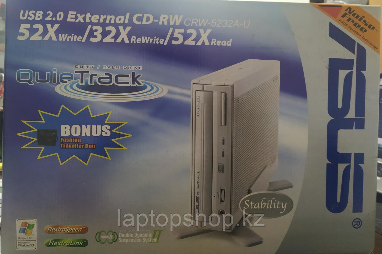 Привод CD-ReWriter Asus 52x32x52 USB EXT