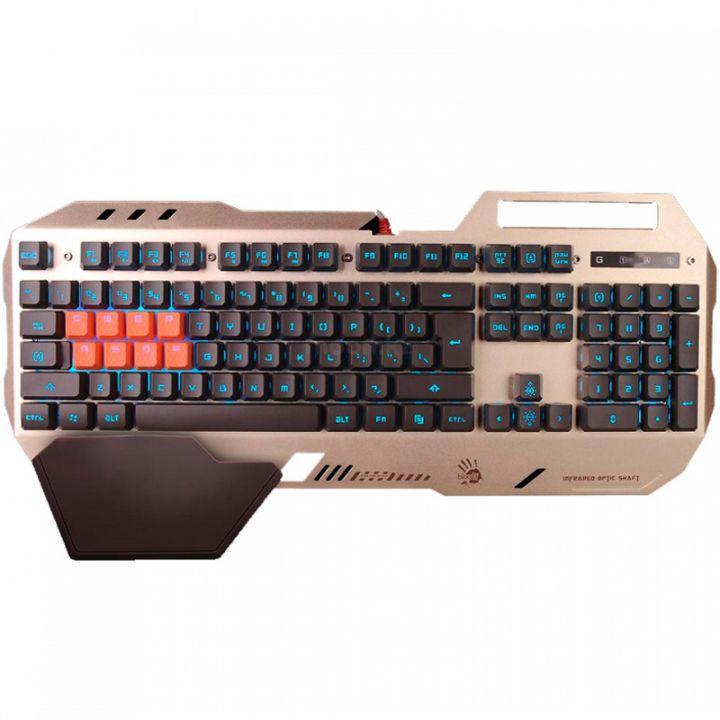 Клавиатура игровая Bloody B2418-Golden